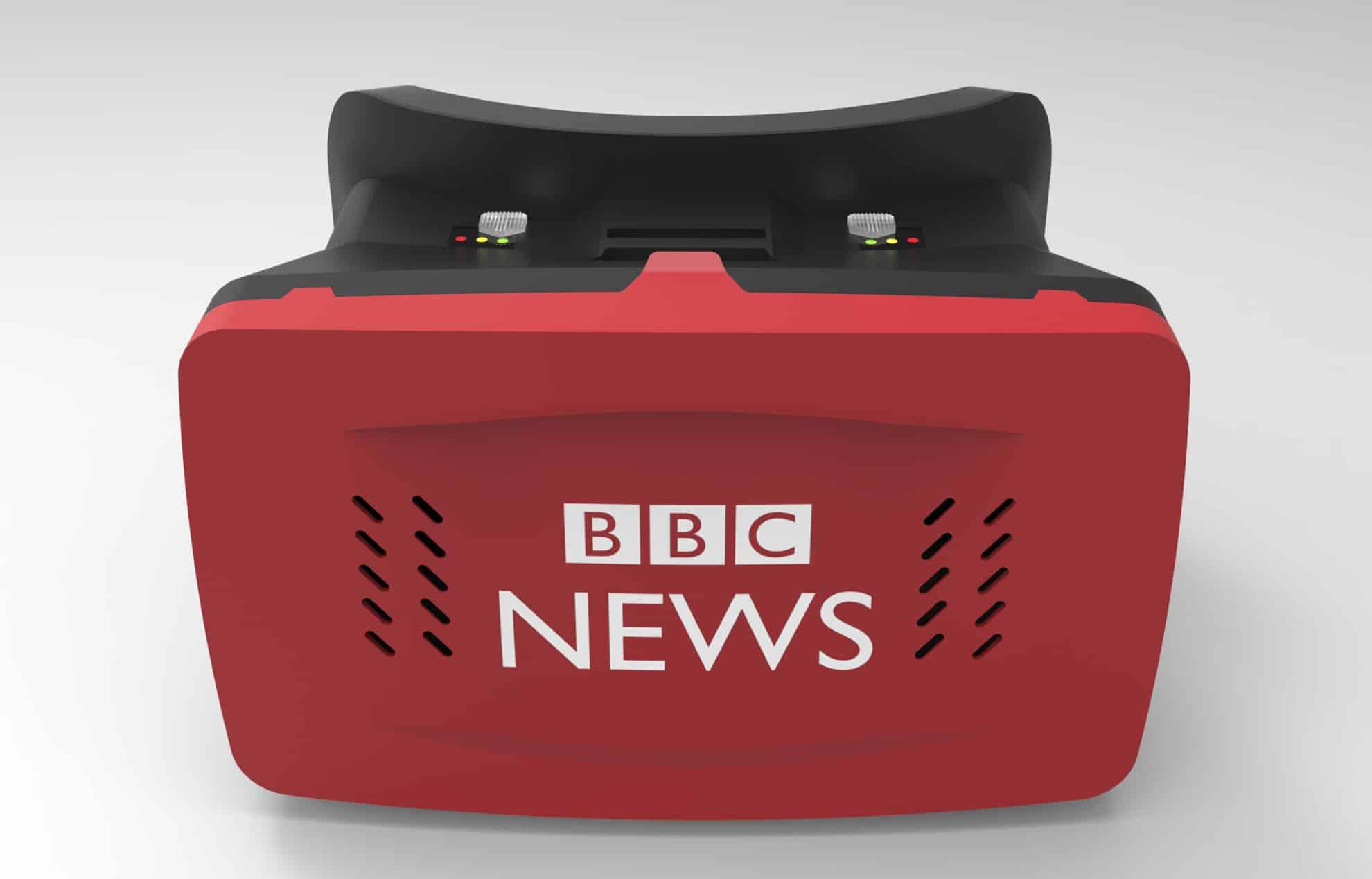 Custom Branded BBC Virtual Reality Headset
