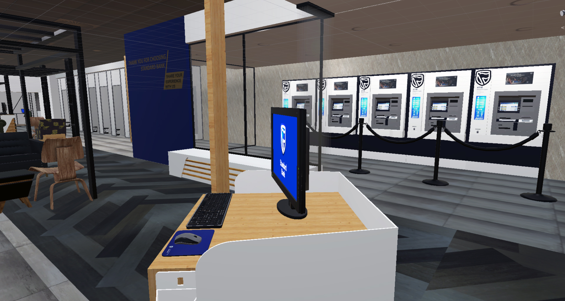 3D Model of the Bank