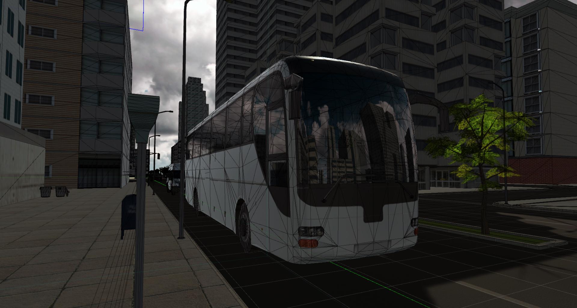 virtual reality city