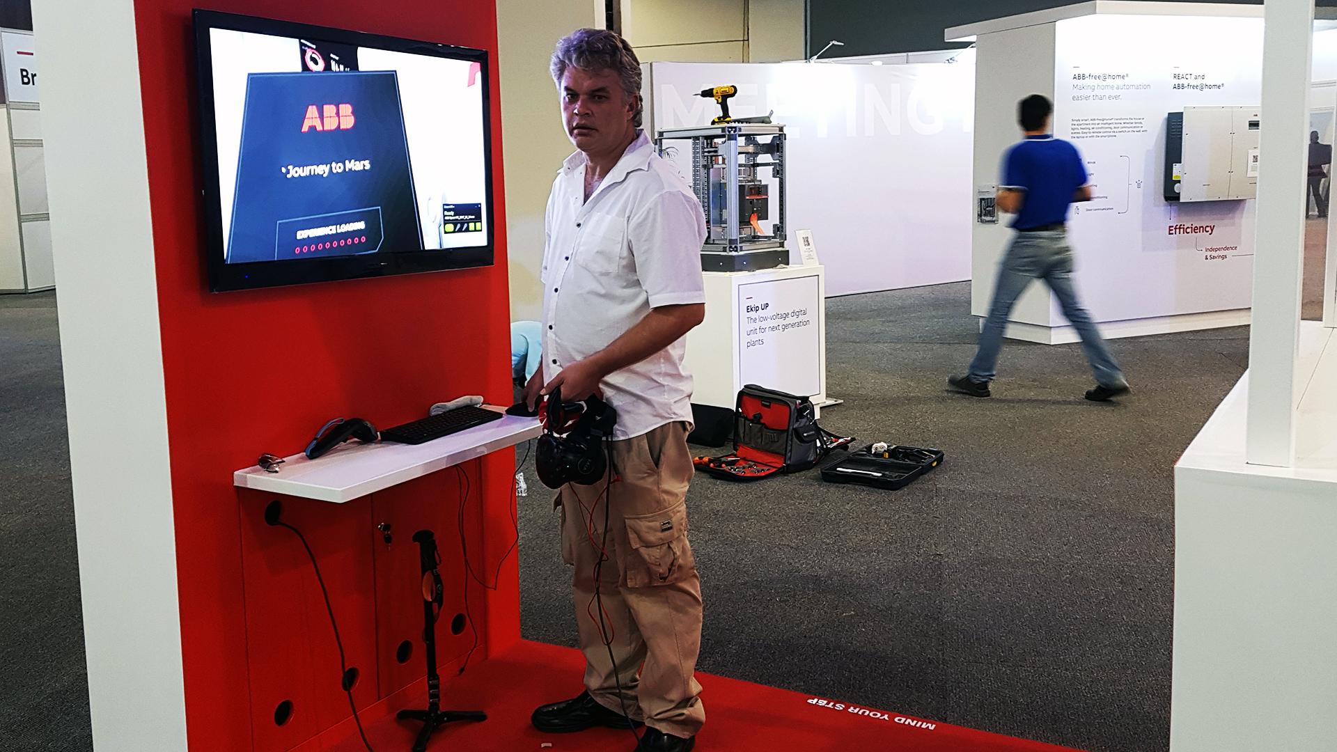 Gerald Ferreira Virtual Reality Events