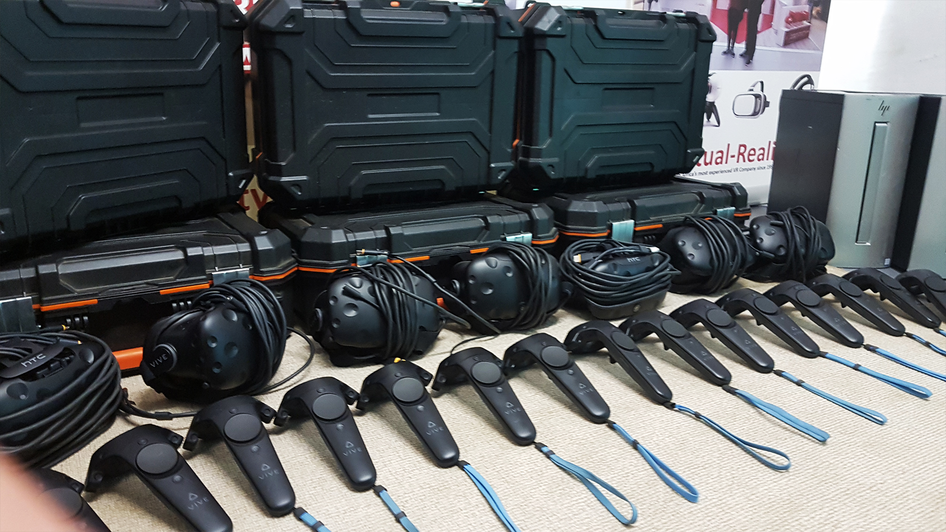HTC VIVE Equipment for events