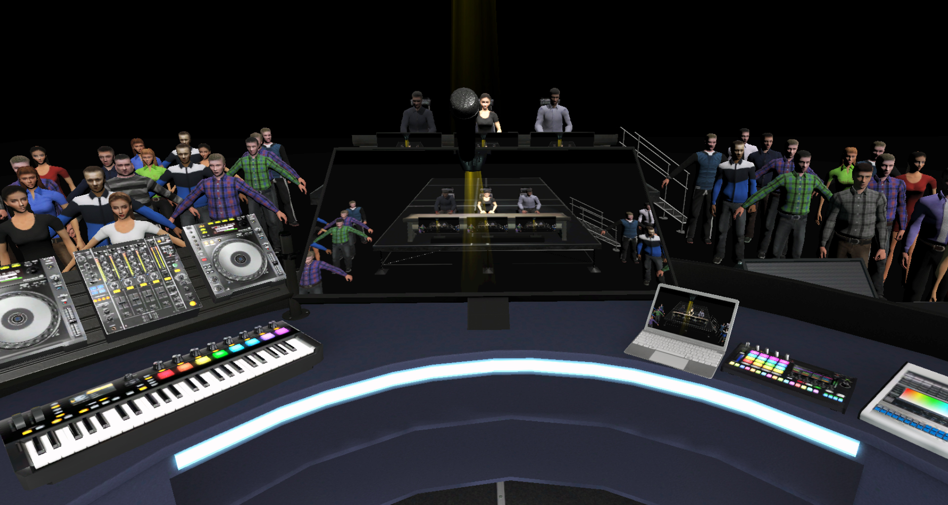 Karaoke Virtual Reality Game