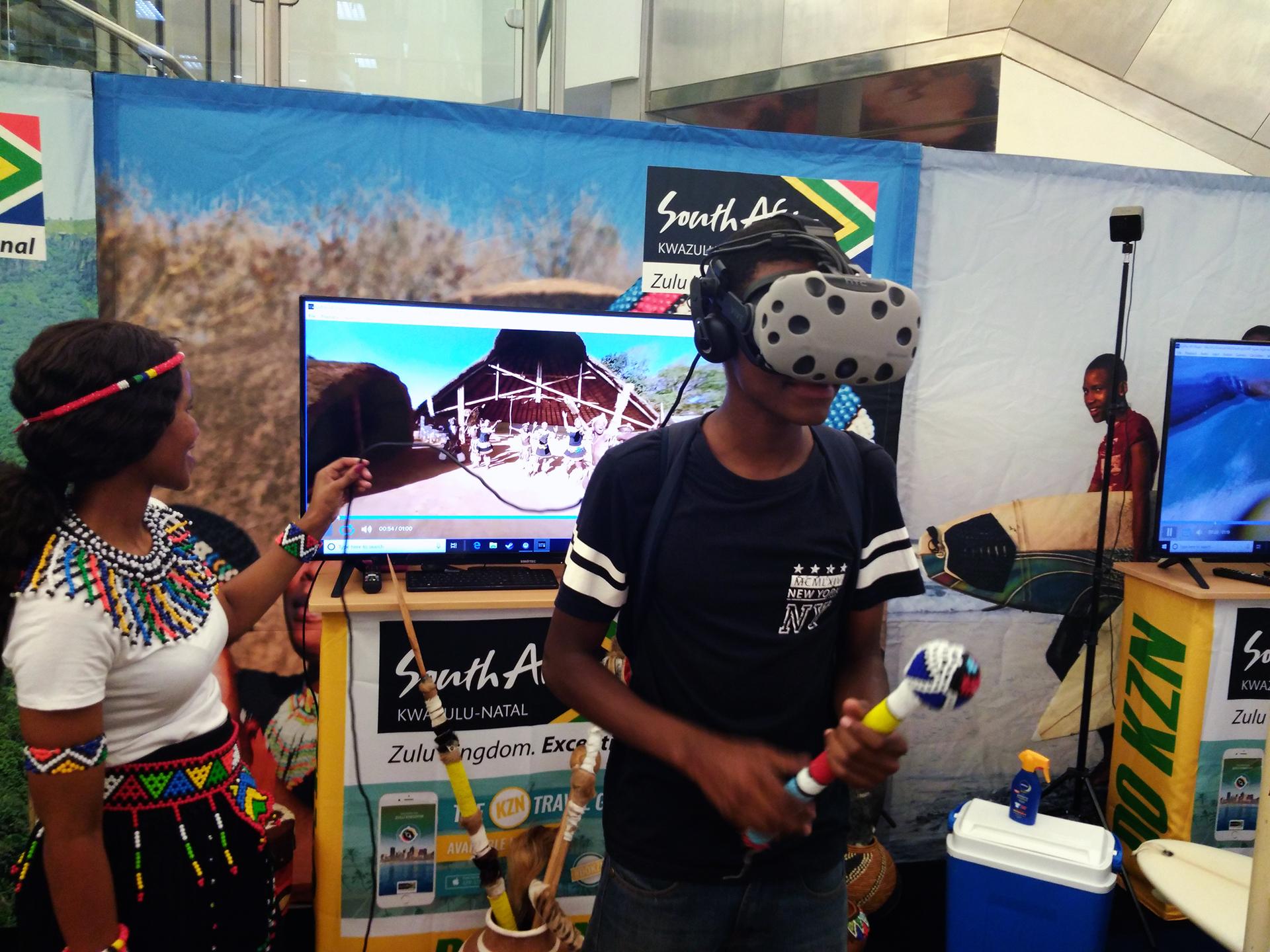 Virtual Reality Zulu Dancing