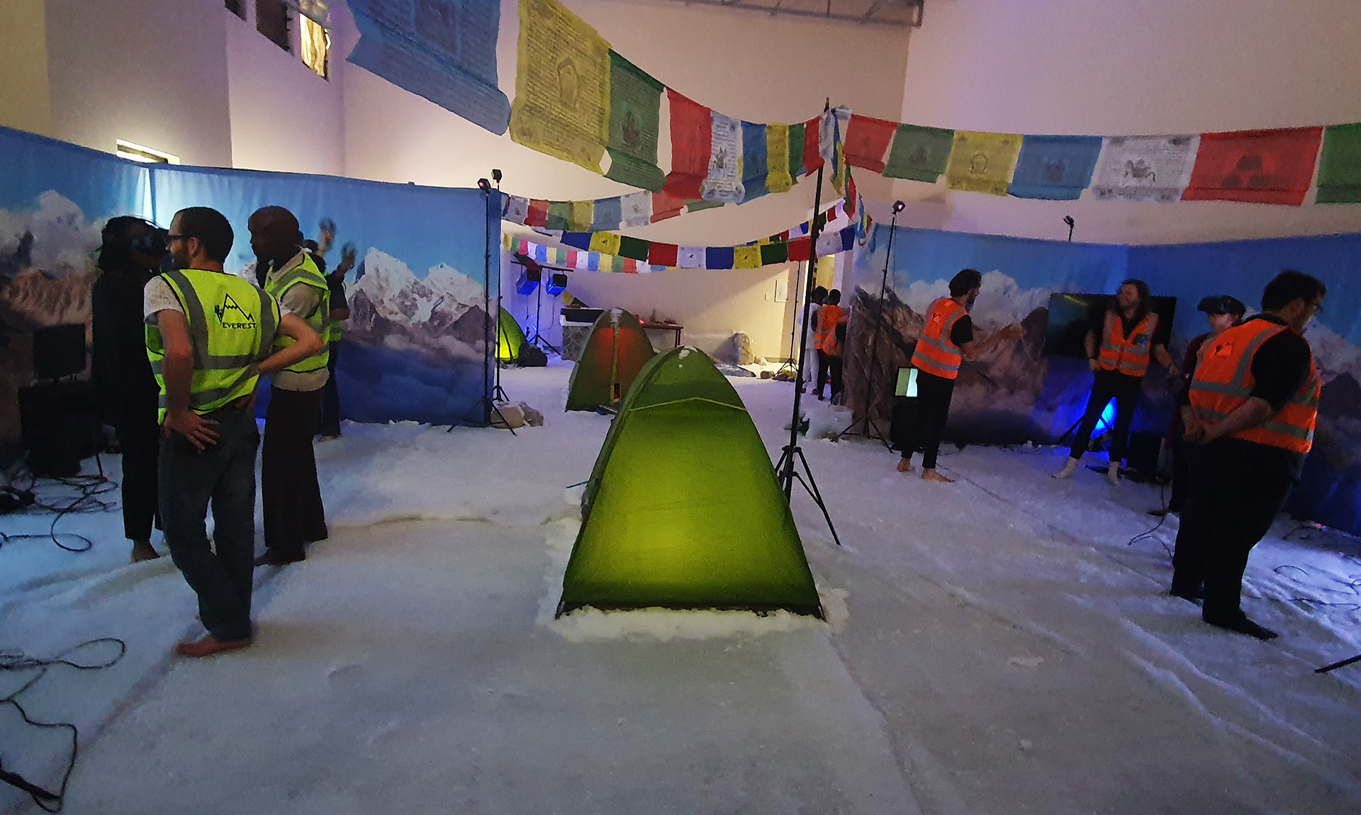 mount-everest-themed-virtual-reality-event