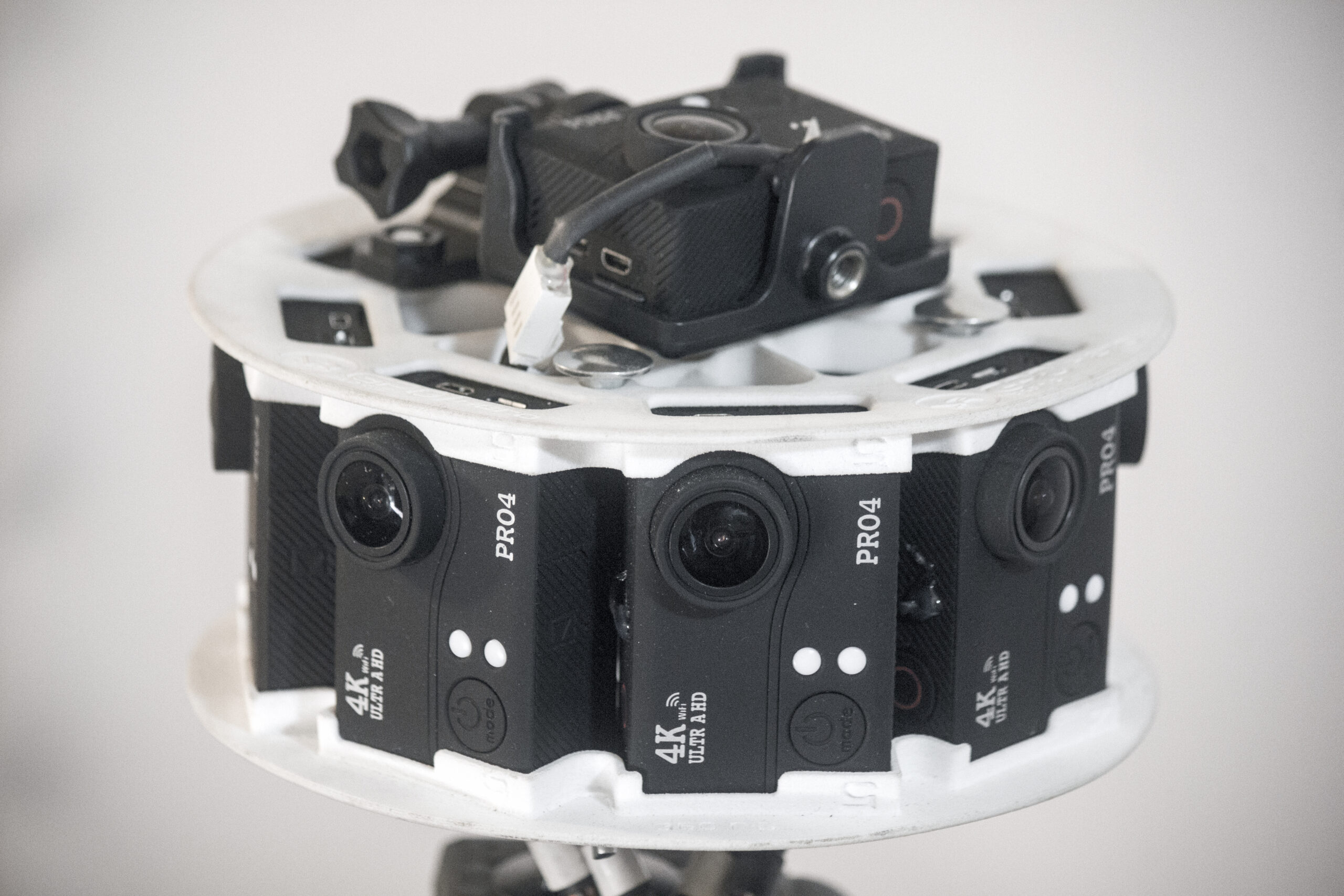 360 camera filming