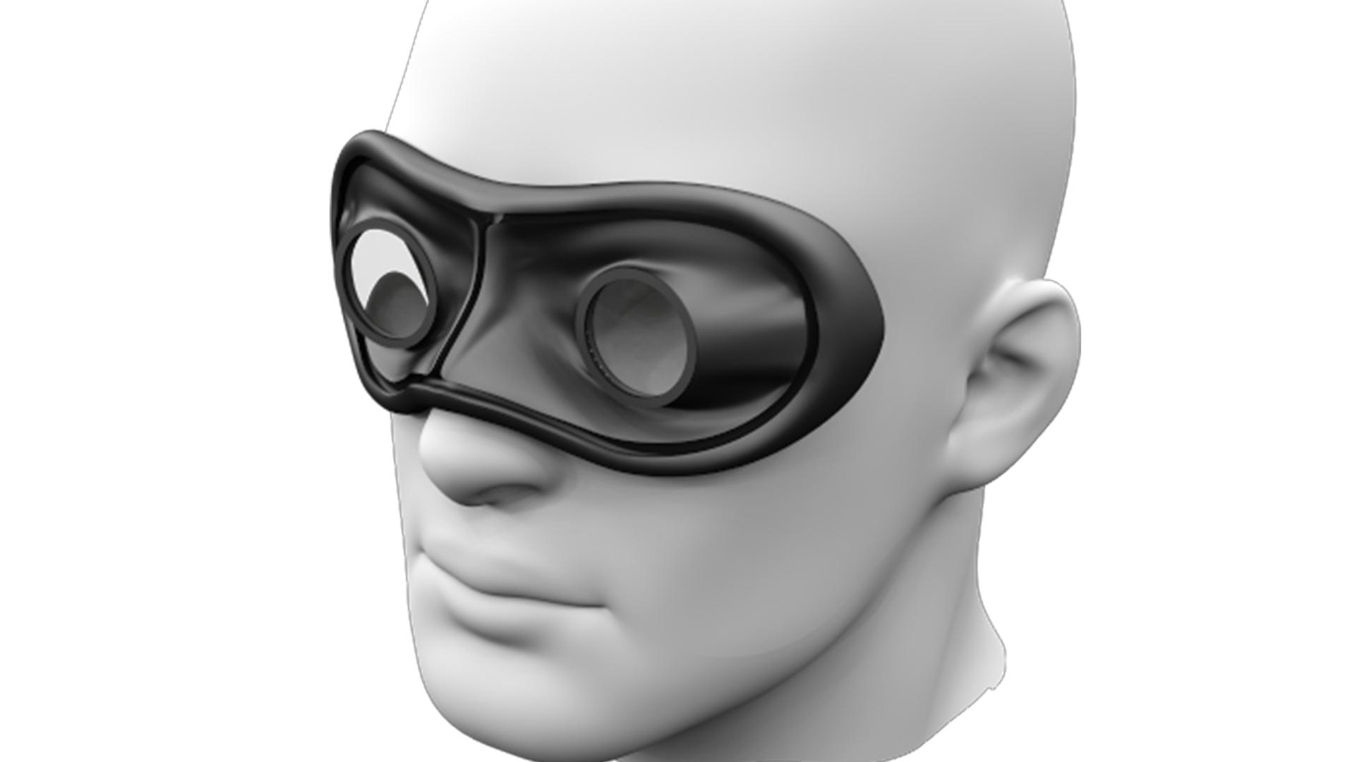 Custom Made Plastic virtual reality glasses