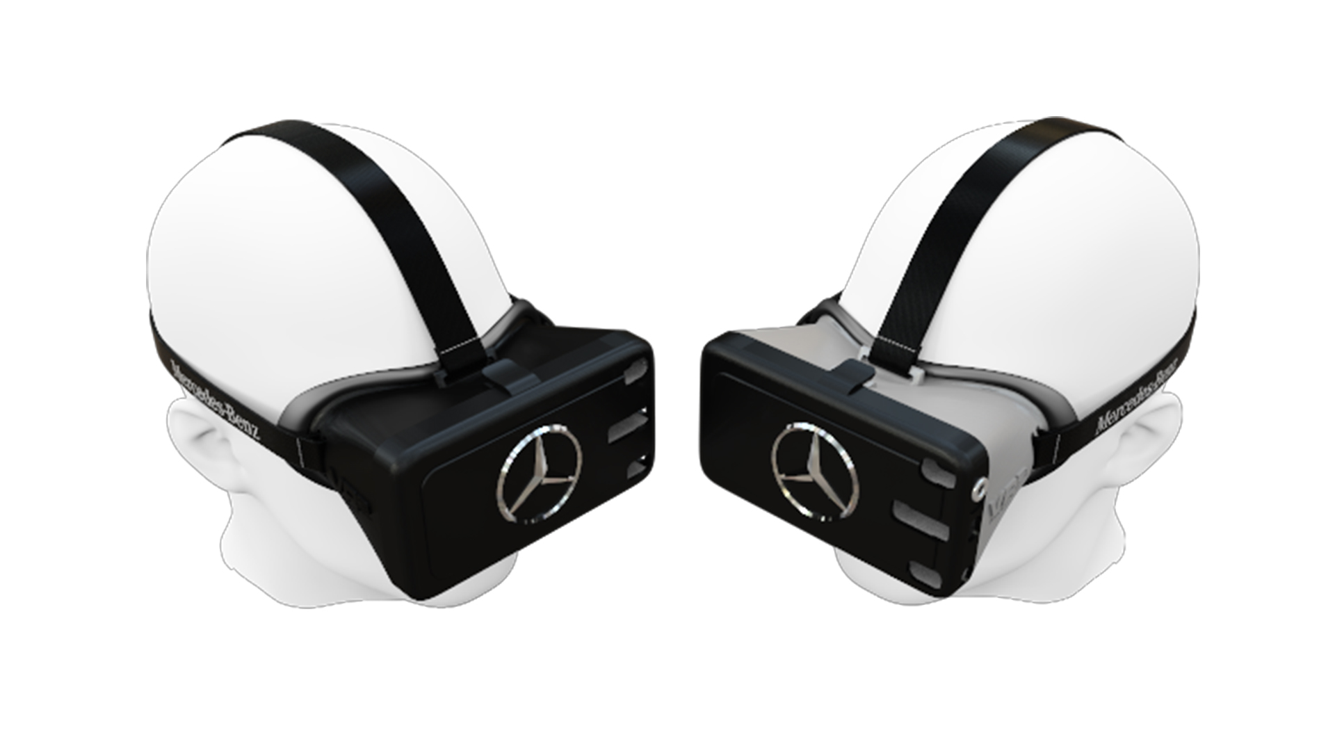 Mercedes-Benz Branded Virtual Reality Headsets
