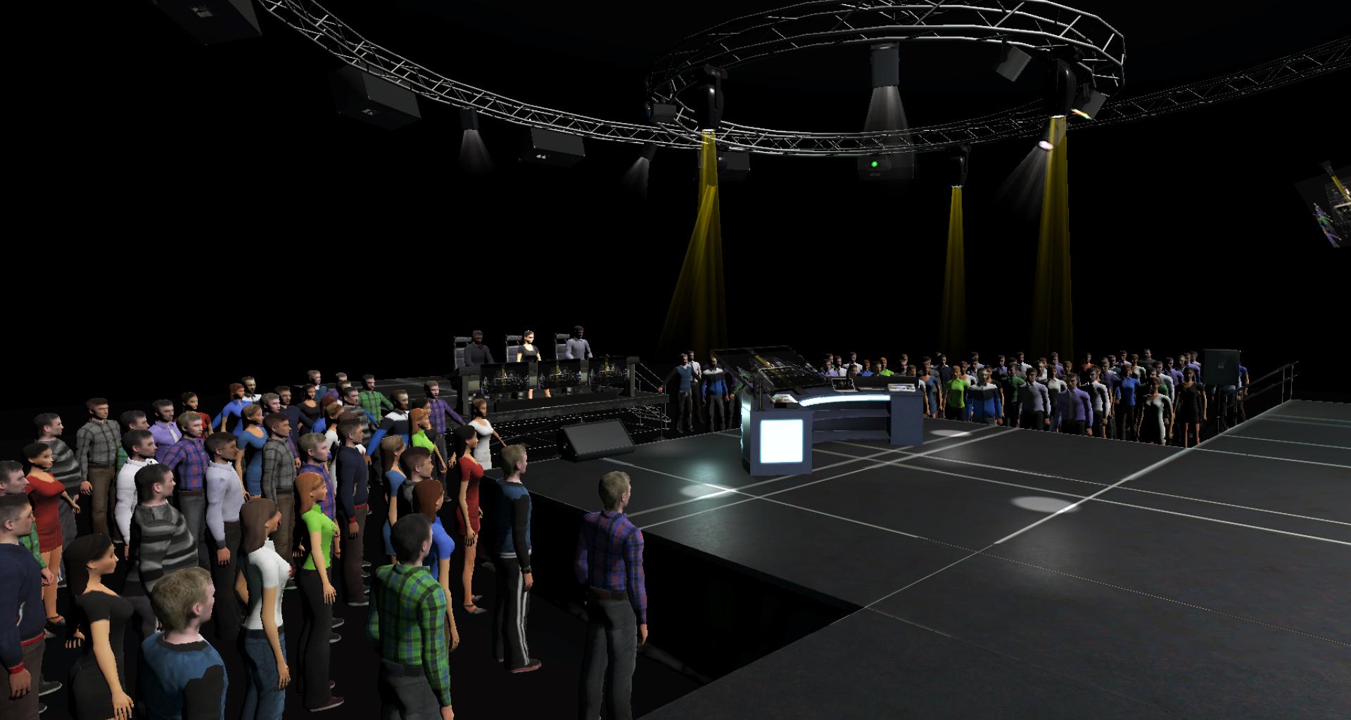 Virtual Reality Karaoke Game