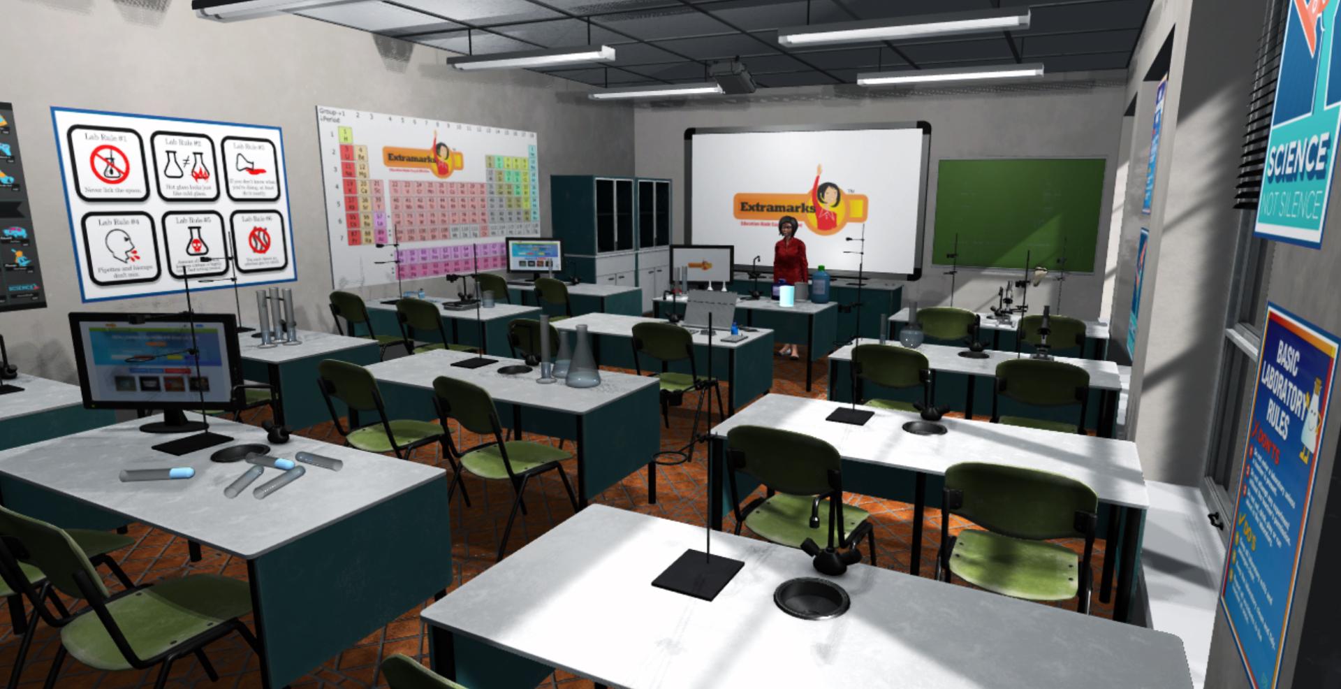 virtual reality education game