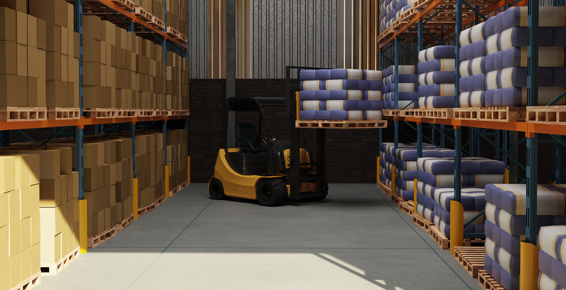 virtual reality warehouse