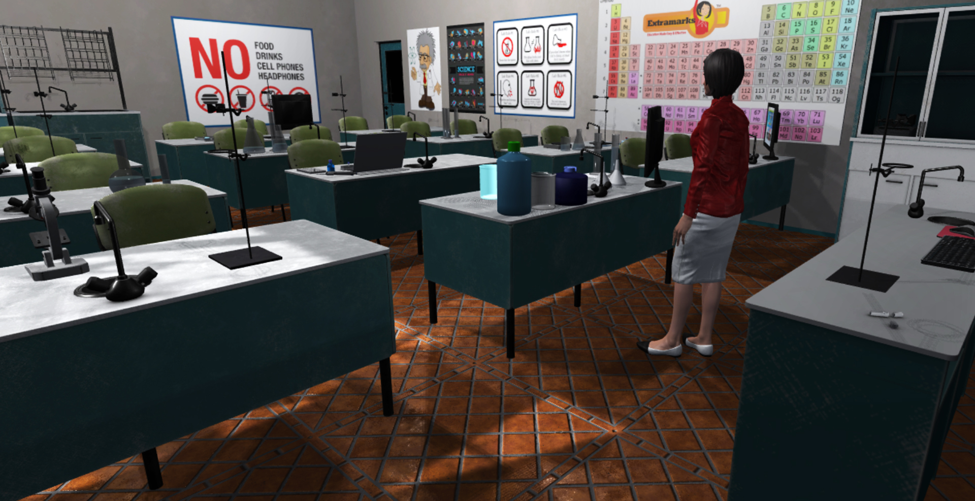 VR Science Classroom